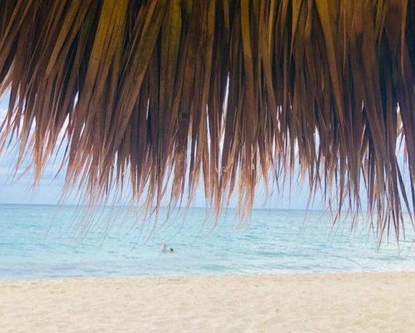 vakantiedagen foto van strand en zee
